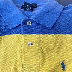 Boys Polo logo shirt sleeve shirt